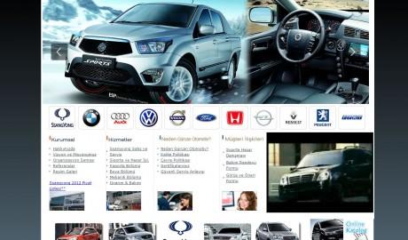 Gürcan Otomotiv web sitesi