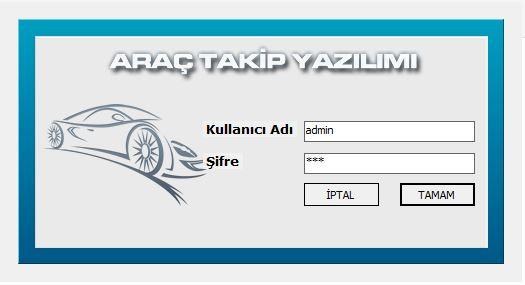 Araç Takip Proğramı